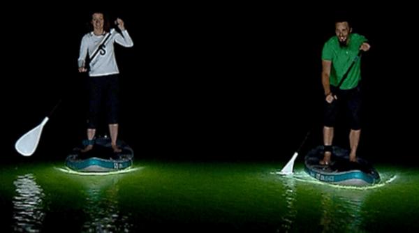 Sipaboard éclairée de nuit avec LED