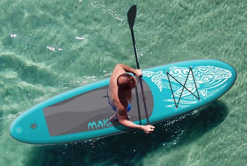 Homme sur planche ECD Germany Makani ocean