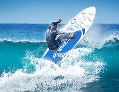 MaxKare SUP-WH100BS homme surf vague