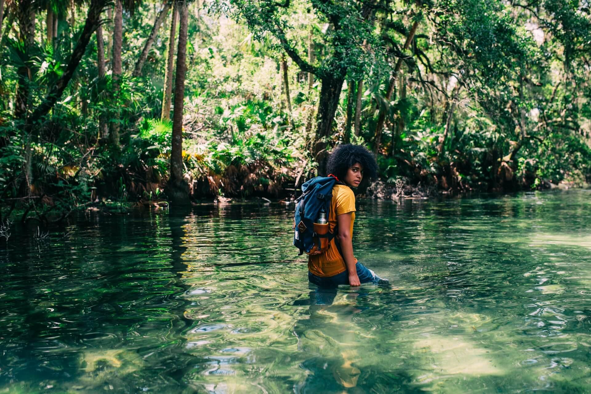 Sac a dos mangrove foret