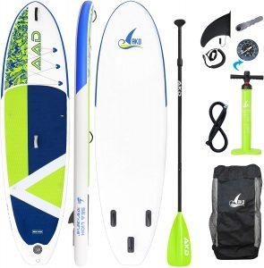 AKD SeaLion kit SUP board aileron sac gonfleur pagaie