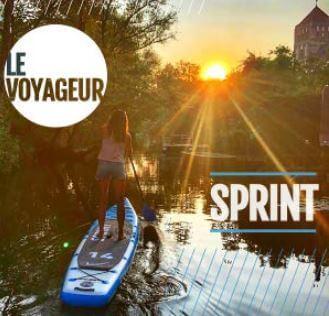 Bluefin Sprint femme sur paddle